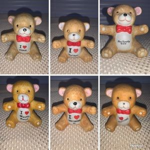 Vintage Collectible ceramic bears